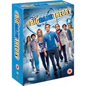 Big Bang Theory Seasons 1-6 DVD