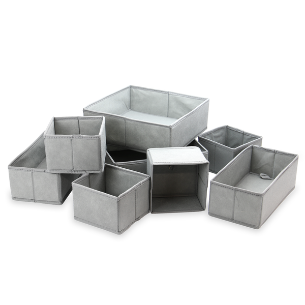 Set of 8 Drawer Organisers | M&W - Image 1