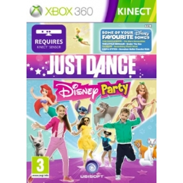 Kinect Just Dance Disney Party Game Xbox 360