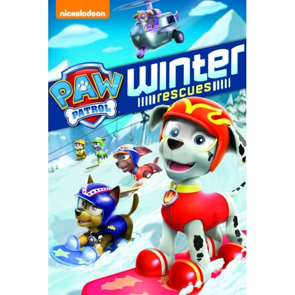Paw Patrol: Winter Rescues DVD