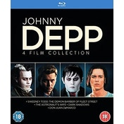 Johnny Depp - 4 Film Collection Blu-ray