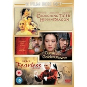 Curse Of The Golden Flower / Fearless / Crouching Tiger, Hidden Triple DVD