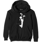 Amy Winehouse  - Scarf Portrait Men's Small Pullover Hoodie - Black