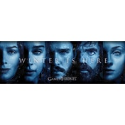 Game Of Thrones - Winter Is Here Slim Poster