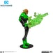 Green Lantern Justice League Animated DC Multiverse McFarlane Toys Action Figure - Image 3