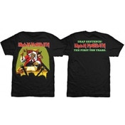 Iron Maiden Deaf Sentence Mens Black TShirt: Large