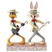 On With the Show (Bugs Bunny and Daffy) Looney Tunes by Jim Shore