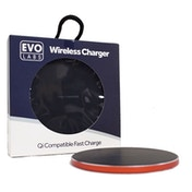 TARGET Universal Fast Charging QI Wireless Charging Pad Red.