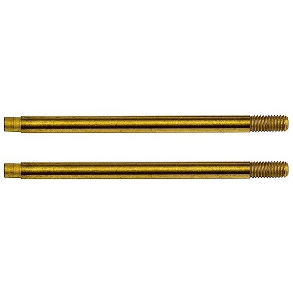 Team Associated RC10B74 3x29 Shock Shafts V2 TiN AS91644
