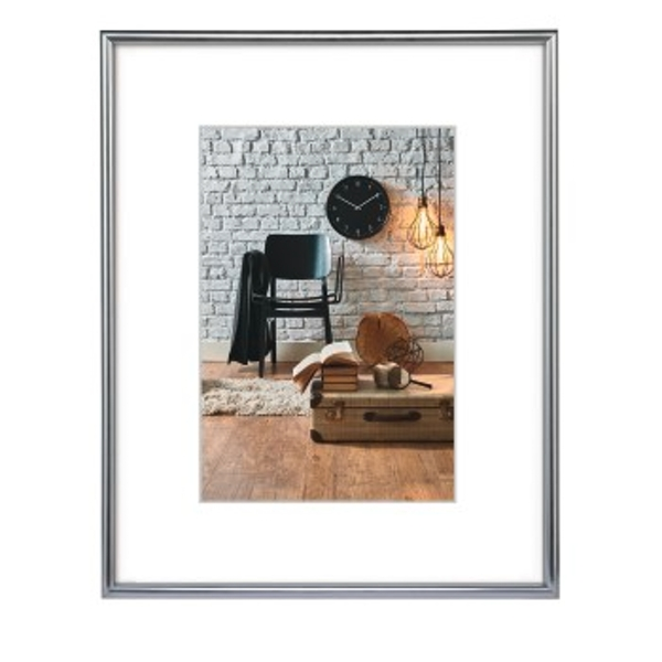 Hama 13 x 18 cm Sevilla Décor Photo Frame-Silver Matt