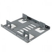 StarTech Dual 2.5 inch SATA Hard Drive to 3.5 inch Bay Mounting Bracket