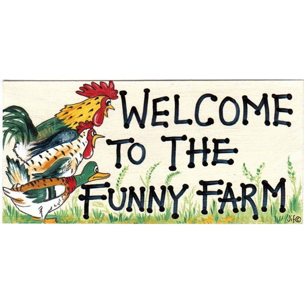 Welcome To The Funny Farm Pack Of 12