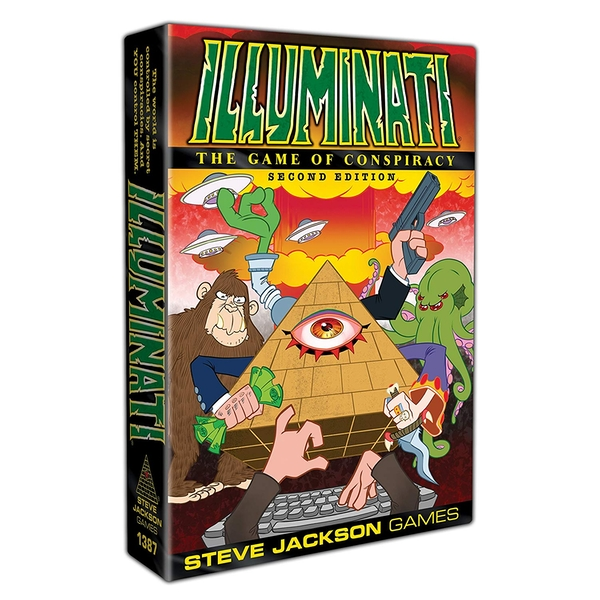 Illuminati 2nd Edition The Game Of Conspiracy