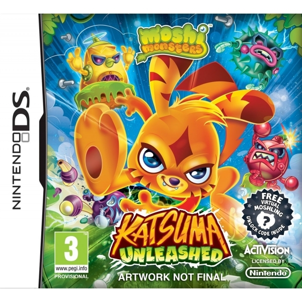 Moshi Monsters Katsuma Unleashed Game DS