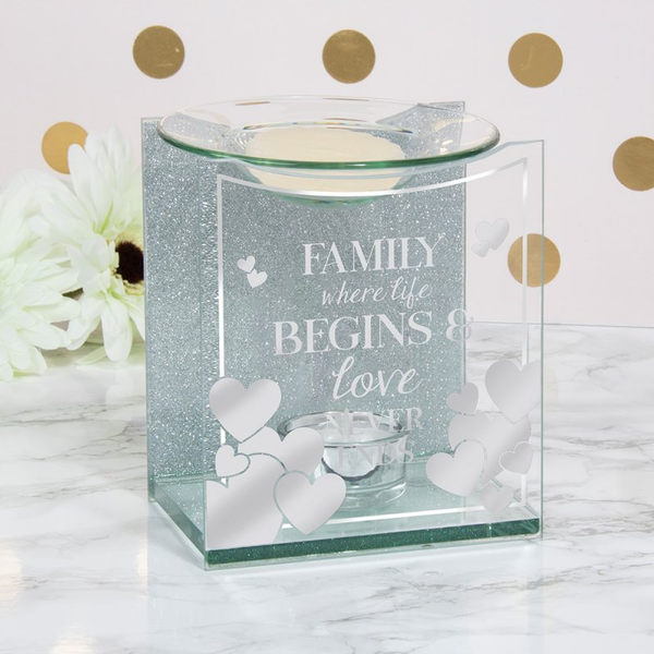 Wax Warmer Family Sentiments by Lesser & Pavey