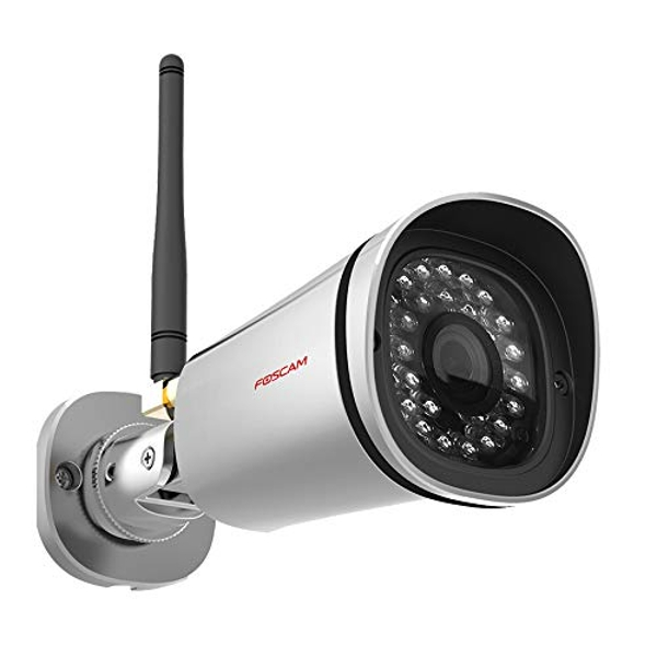 Foscam FI9800P 720P Wireless HD IP Bullet CCTV Camera with Night Vision - Silver
