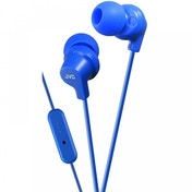 JVC HAFR15A Colourful In-Ear Headphones with Remote & Mic Blue