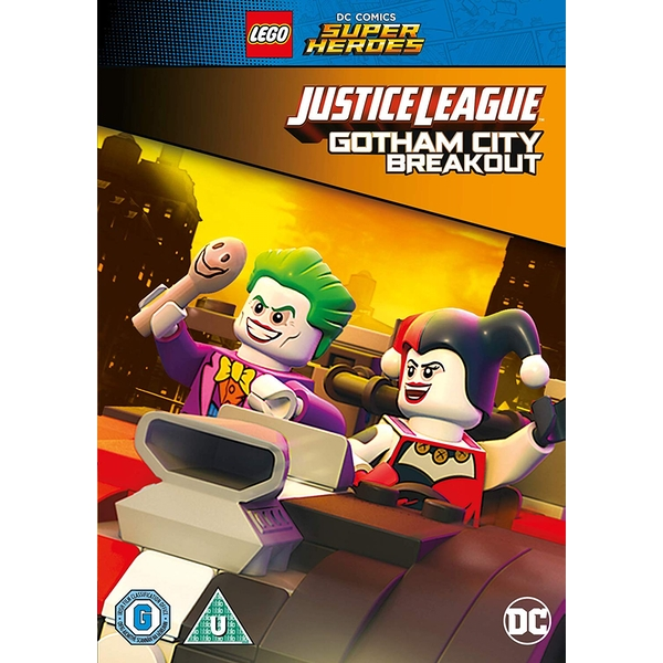 LEGO DC Justice League: Gotham City Breakout DVD