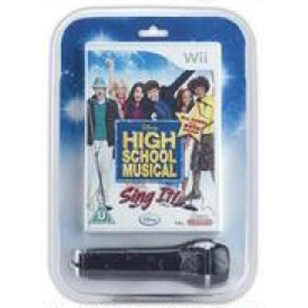High School Musical Game + Microphone Wii