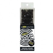 Mighty Boom Ball Black Battery Booster