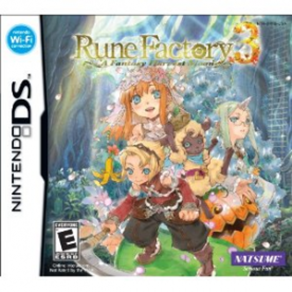 Rune Factory 3 A Fantasy Harvest Moon Game DS