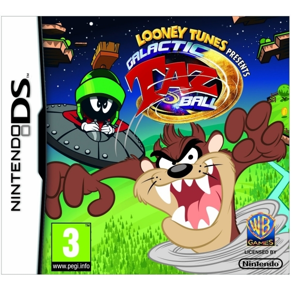 Looney toons galactic taz ball game ds 365games looney toons galactic taz ball game ds voltagebd Images