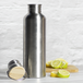 Stainless Steel Water Bottle - 1L   M&W - Image 2