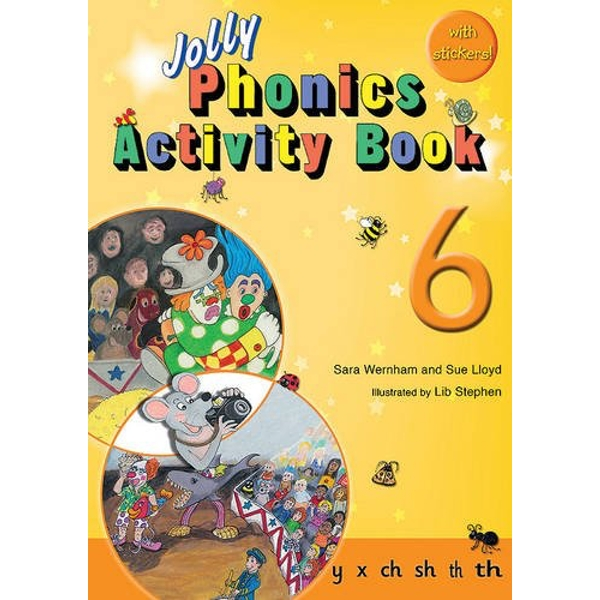 Jolly Phonics Activity Book 6: in Precursive Letters (BE) by Sue Lloyd, Sara Wernham (Paperback, 2010)