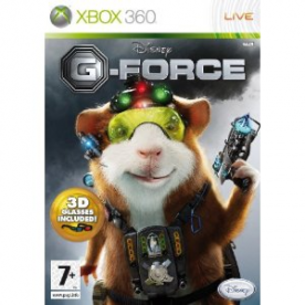 Disney G-Force Game Includes 3D Glasses Xbox 360