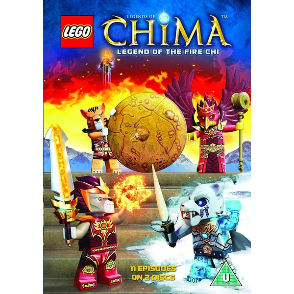 Lego Chima - Season 2 Part 2 DVD