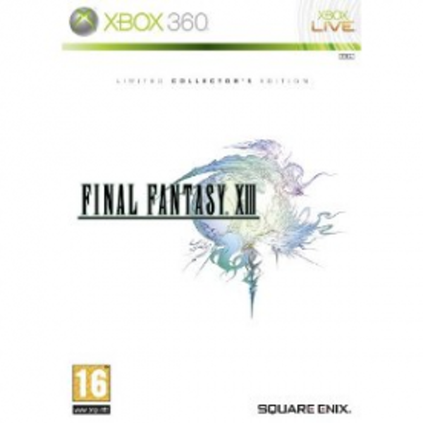 Final Fantasy XIII 13 Collector's Edition Game Xbox 360