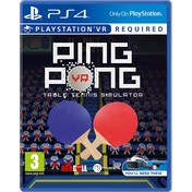 Ping Pong PS4 Game (PSVR Required)