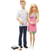 Barbie & Ken Cafe 2 Doll Pack