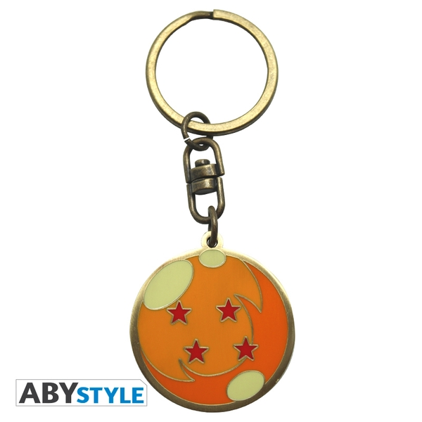 Dragon Ball Z- Dragonball Metal Keyring