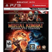 Mortal Kombat Komplete (Complete) Edition Game  (Greatest Hits) PS3