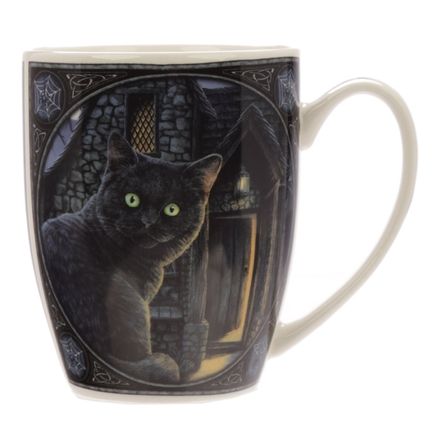 What Lies Within Cat Design Lisa Parker New Bone China Mug