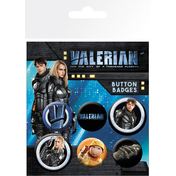 Valerian Mix Badge Pack