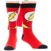 The Flash - Logo Sock With Cape (One Size)