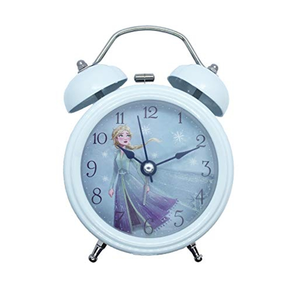 Disney Frozen 2 Double Bell Alarm Clock