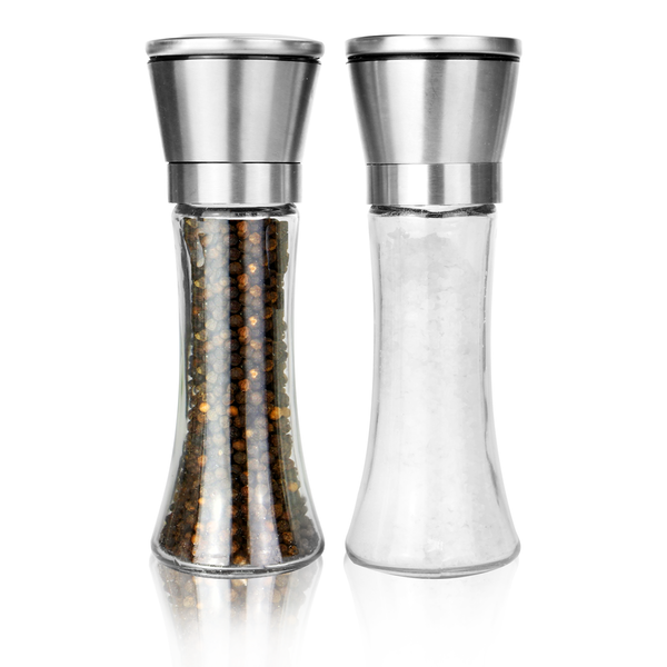 Salt & Pepper Grinders - Set of 2 | M&W Large New