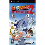 Worms 2 Open Warfare Game PSP
