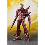 Iron Man Mk-50 Nano Weapon Set (Infinity War) Bandai Action Figure