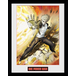 One Punch Man Genos Framed Collector Print - Image 2