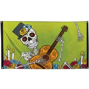 Day Of The Dead Polyester Flag Decoration