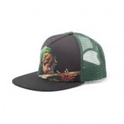 Nintendo Legend of Zelda Unisex Link Close-up Trucker Black Baseball Cap