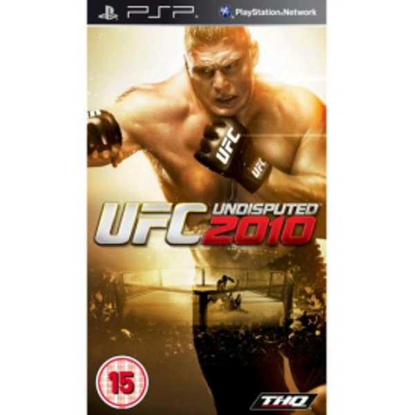 UFC Undisputed 2010 Game PSP