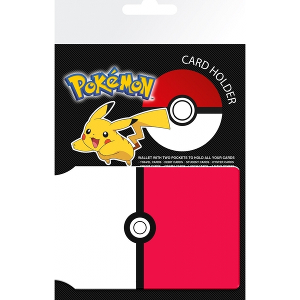 Pokemon Pokeball Card Holder