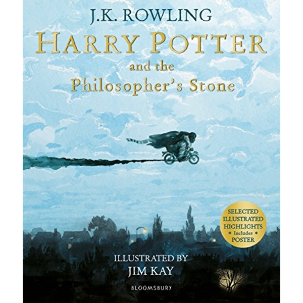 Harry Potter and the Philosopher's Stone Illustrated Edition Paperback / softback 2018