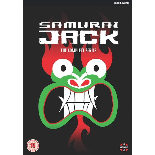 Samurai Jack The Complete Series DVD