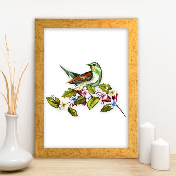 AC6239298472 Multicolor Decorative Framed MDF Painting